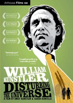 William Kunstler: Disturbing the Universe DVD Cover Art