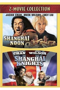 Shanghai Noon/Shanghai Knights DVD Cover Art