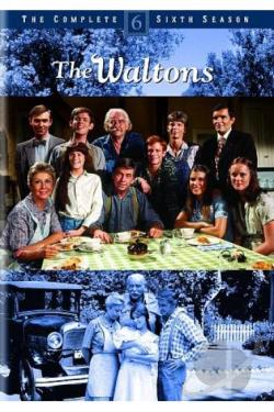 Waltons - The Complete Sixth Season DVD Cover Art