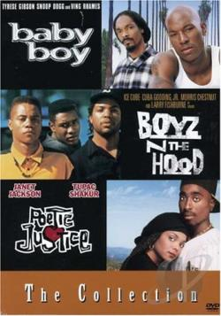 Boyz 'N The Hood/Baby Boy/Poetic Justice - Box Set DVD Cover Art