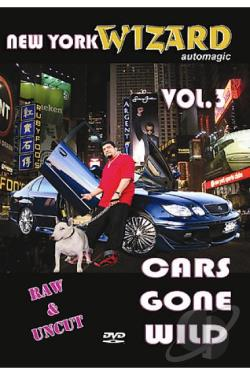 Cars Gone Wild - Vol. 3 DVD Cover Art