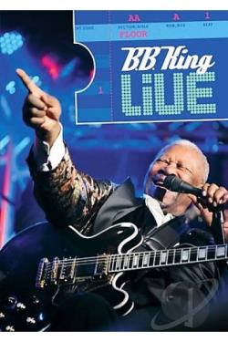 B.B. King - Live DVD Cover Art