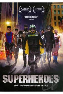 Superheroes DVD Cover Art