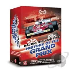 History Of The Grand Prix DVD Cover Art