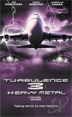 Turbulence 3: Heavy Metal DVD Cover Art