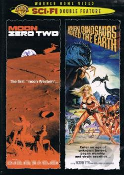 Moon Zero Two/When Dinosaurs Ruled The Earth DVD Cover Art