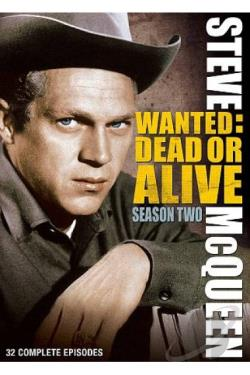 Wanted Dead Or Alive - Season 2 DVD Cover Art