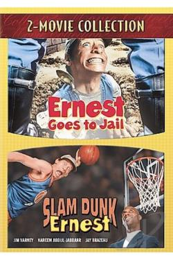 Ernest Goes To Jail/Slam Dunk Ernest DVD Cover Art