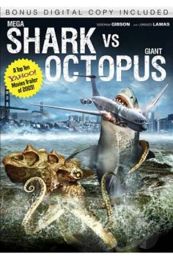 Mega shark vs giant octopus dvd