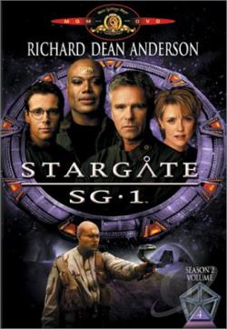 Stargate SG-1 - Season 2: Volume 4 DVD Cover Art
