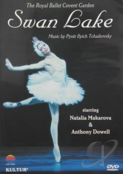Swan Lake - The Royal Ballet DVD Cover Art