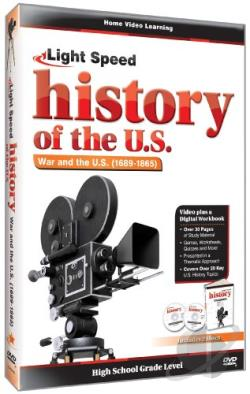 Light Speed History of the U.S.: War and the U.S. (1689-1865) DVD Cover Art