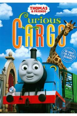 Thomas and Friends: Curious Cargo DVD Cover Art
