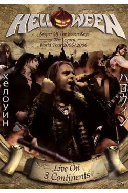 Helloween - Keeper of the Seven Keys DVD Cover Art