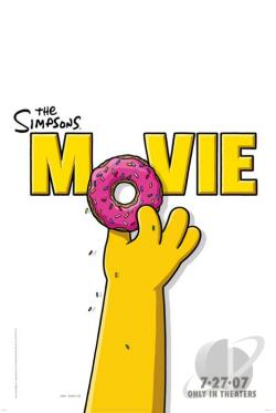 Simpsons Movie DVD Cover Art