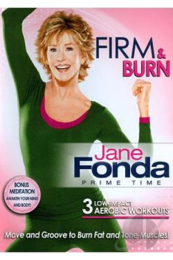 Jane Fonda: Prime Time - Firm & Burn DVD Cover Art