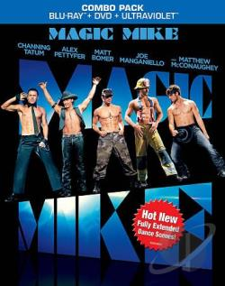 Magic Mike BRAY Cover Art