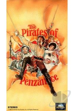 Pirates Of Penzance VHS Cover Art