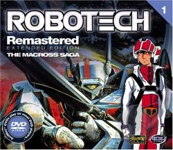 Animini - Robotech Remastered: Vol. 1 DVD Cover Art
