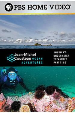 Jean-Michel Cousteau - Ocean Adventures: America's Underwater Treasures DVD Cover Art
