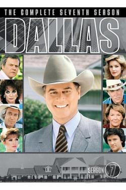 Dallas - The Complete Seventh Season DVD Cover Art