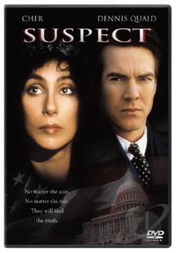 Suspect DVD Cover Art
