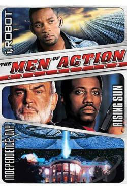 Men of Action Box Set DVD Cover Art