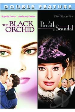 Black Orchid/ A Breath of Scandal DVD Cover Art