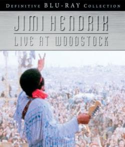 Jimi Hendrix - Live at Woodstock BRAY Cover Art
