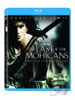 Last of the Mohicans BRAY Cover Art