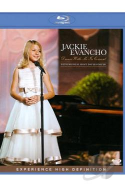 Jackie Evancho: Dream with Me in Concert BRAY Cover Art