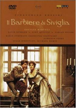 Barber of Seville - Bartoli, Kuebler, Ferro DVD Cover Art