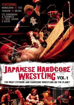 Japanese Hardcore Wrestling - Vol. 1 DVD Cover Art
