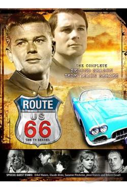 Route 66 - Season 2 Volume 1 & 2 DVD Cover Art