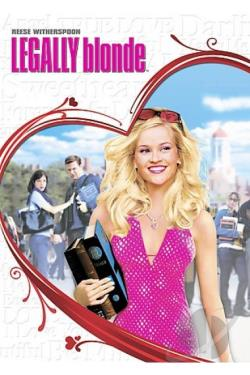 Legally Blonde DVD Cover Art