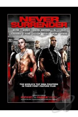 Never Surrender DVD Cover Art