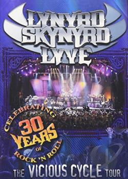 Lynyrd Skynyrd - Lyve: The Vicious Cycle Tour DVD Cover Art