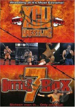XCU Wrestling Battle Box 7 DVD Cover Art