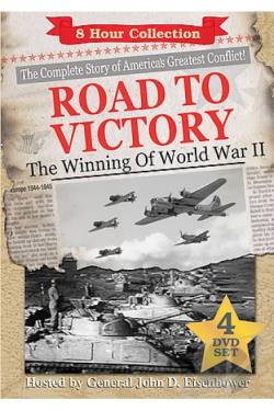 World War II Great Battles and Generals - Road to Victory DVD Cover Art