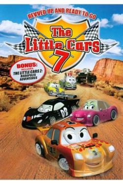 Little Cars, Vol. 7: Revved and Ready to Go DVD Cover Art
