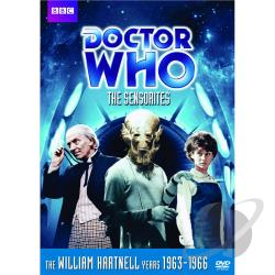 Doctor Who - The Sensorites DVD Cover Art