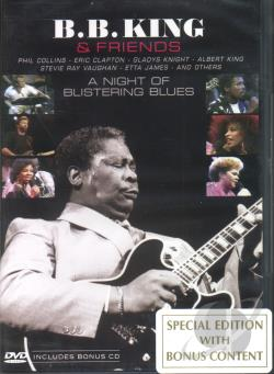 Night Of Blistering Blues DVD Cov