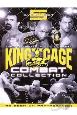 King of the Cage - Combat Collection DVD Cover Art