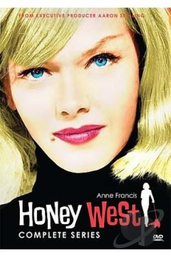 Honey West - The Complete Series DVD Cover Art