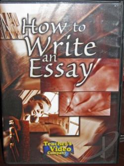 How To Write An Essay DVD Cover Art