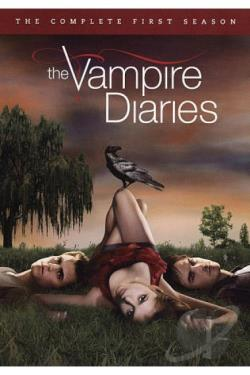 Vampire Diaries - The Complete First Season DVD Cover Art