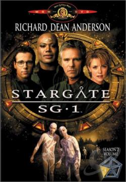 Stargate SG-1 - Season 2: Volume 5 DVD Cover Art
