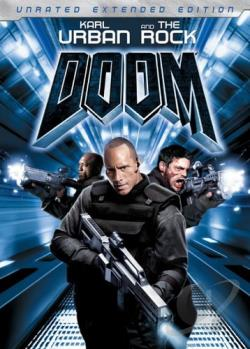 Doom DVD Cover Art