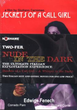 Nude In The Dark - The Ultimate Italian Exploitation Experience DVD Cover Art
