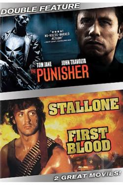 Punisher/First Blood DVD Cover Art